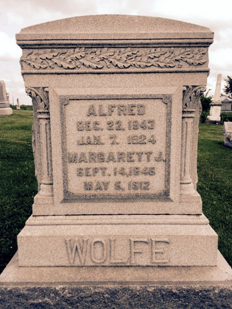 WOLFE, MARGARETT J - Van Buren County, Iowa | MARGARETT J WOLFE