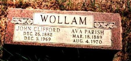 WOLLAM, JOHN - Van Buren County, Iowa | JOHN WOLLAM
