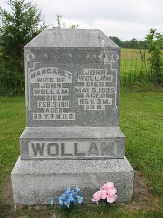 WOLLAM, MARGARET - Van Buren County, Iowa | MARGARET WOLLAM