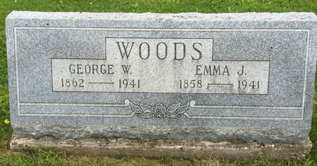 WOODS, GEORGE W. - Van Buren County, Iowa | GEORGE W. WOODS