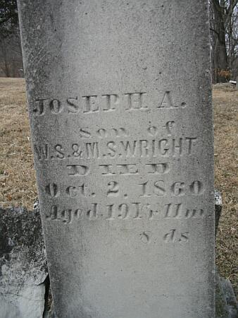 WRIGHT, JOSEPH A. - Van Buren County, Iowa | JOSEPH A. WRIGHT