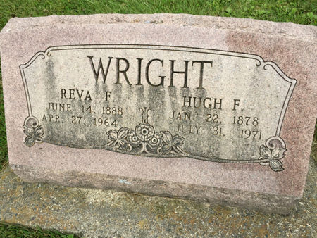 WRIGHT, REVA F. - Van Buren County, Iowa | REVA F. WRIGHT