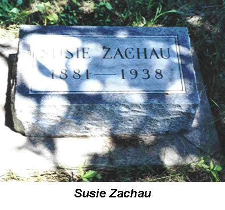 ZACHAU, SUSIE - Van Buren County, Iowa | SUSIE ZACHAU