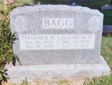 BAGG, ELIZABETH M. - Wapello County, Iowa | ELIZABETH M. BAGG