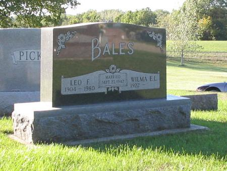 BALES, LEO - Wapello County, Iowa | LEO BALES