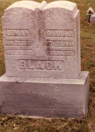 BLACK, LOMAN ALBERT - Wapello County, Iowa | LOMAN ALBERT BLACK