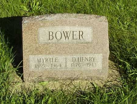 ORMAN BOWER, MYRTLE - Wapello County, Iowa | MYRTLE ORMAN BOWER