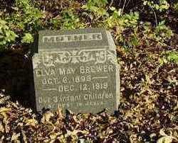 BREWER, ELVA - Wapello County, Iowa   ELVA BREWER