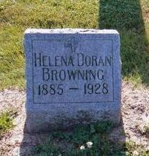 DORAN BROWNING, HELENA - Wapello County, Iowa | HELENA DORAN BROWNING