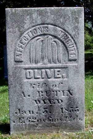 BUTIN, OLIVE - Wapello County, Iowa | OLIVE BUTIN