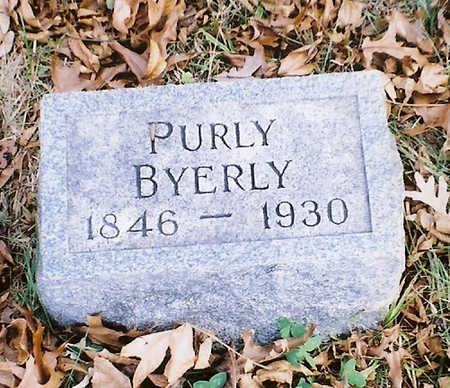 BYERLY, PURLY - Wapello County, Iowa | PURLY BYERLY