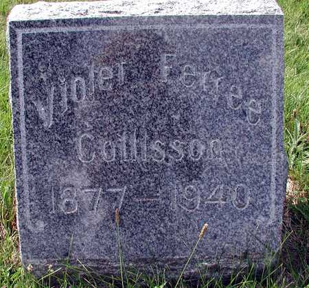 COLLISSON, VIOLET - Wapello County, Iowa | VIOLET COLLISSON