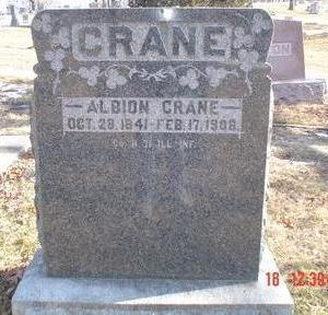 CRANE, ALBION - Wapello County, Iowa | ALBION CRANE