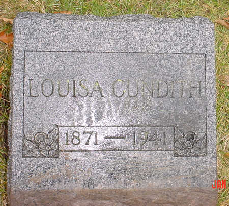 CUNDITH, LOUISA - Wapello County, Iowa | LOUISA CUNDITH