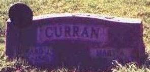 CURRAN, MARY A. - Wapello County, Iowa | MARY A. CURRAN