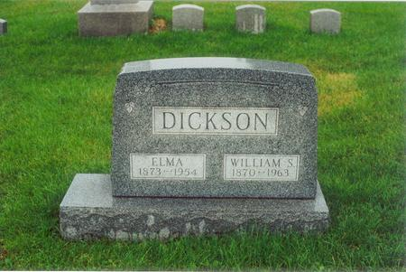 DICKSON, ELMA - Wapello County, Iowa | ELMA DICKSON