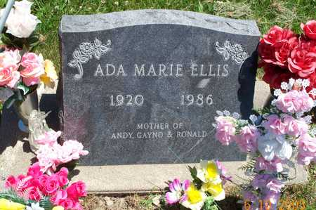 ELLIS, ADA MARIE - Wapello County, Iowa | ADA MARIE ELLIS