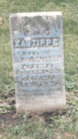 FAILYER, XANTIPPE - Wapello County, Iowa | XANTIPPE FAILYER