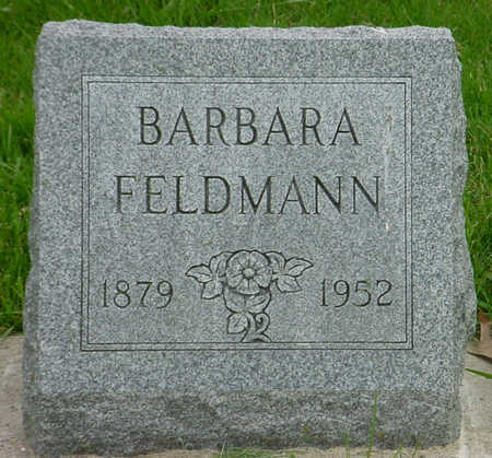 FELDMANN, BARBARA - Wapello County, Iowa | BARBARA FELDMANN