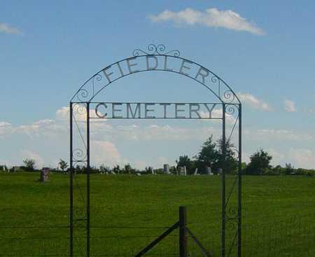 FIEDLER, CEMETERY - Wapello County, Iowa | CEMETERY FIEDLER