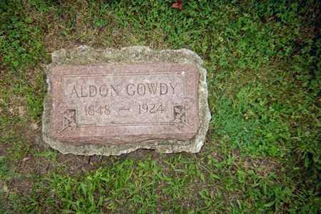 GOWDY, ALDON - Wapello County, Iowa | ALDON GOWDY