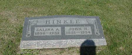 HINKLE, JOHN H - Wapello County, Iowa | JOHN H HINKLE