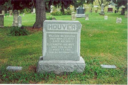 WALKER HOUVER, ELIZABETH - Wapello County, Iowa | ELIZABETH WALKER HOUVER