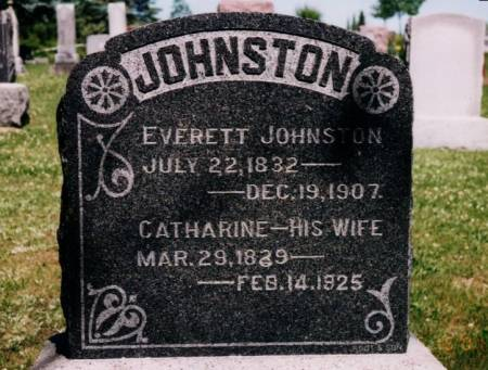 JOHNSTON, EVERETT - Wapello County, Iowa | EVERETT JOHNSTON