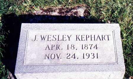 KEPHART J., WESLEY - Wapello County, Iowa | WESLEY KEPHART J.