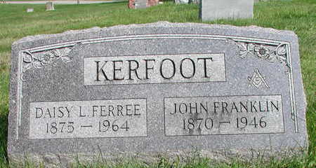 FERREE KERFOOT, DAISY - Wapello County, Iowa | DAISY FERREE KERFOOT