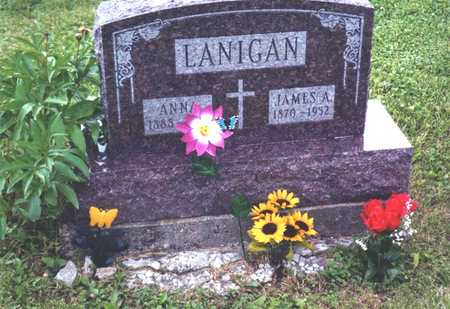 LANIGAN, ANNA M. - Wapello County, Iowa | ANNA M. LANIGAN