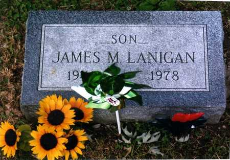 LANIGAN, JAMES - Wapello County, Iowa | JAMES LANIGAN