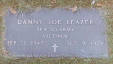LEAZER, DANNY JOE - Wapello County, Iowa | DANNY JOE LEAZER
