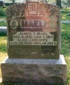 MAEL, ALICE J. - Wapello County, Iowa | ALICE J. MAEL