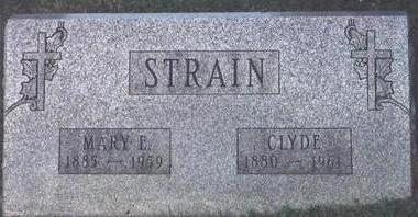 CLYDE, STRAIN - Wapello County, Iowa | STRAIN CLYDE