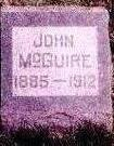 MCGUIRE, JOHN - Wapello County, Iowa | JOHN MCGUIRE