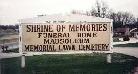 MEMORIAL LAWN/SHRINE OF MEMORI, CEMETERY - Wapello County, Iowa | CEMETERY MEMORIAL LAWN/SHRINE OF MEMORI