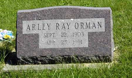 ORMAN, ARLEY RAY - Wapello County, Iowa | ARLEY RAY ORMAN