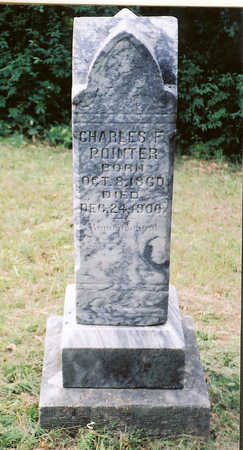 POINTER, CHARLES F. - Wapello County, Iowa | CHARLES F. POINTER