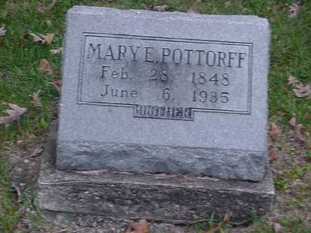 POTTORFF, MARY - Wapello County, Iowa | MARY POTTORFF