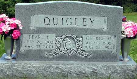 QUIGLEY, PEARL & GEORGE - Wapello County, Iowa | PEARL & GEORGE QUIGLEY