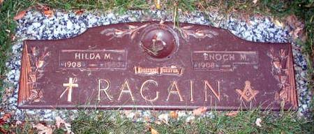 YOUNG RAGAIN, HILDA - Wapello County, Iowa | HILDA YOUNG RAGAIN