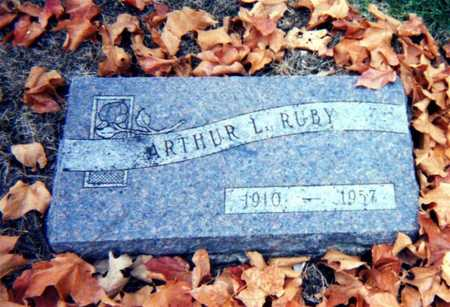 RUBY, ARTHUR L. - Wapello County, Iowa | ARTHUR L. RUBY