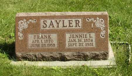 SAYLER, FRANK - Wapello County, Iowa | FRANK SAYLER