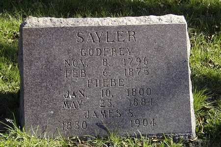 SAYLER, GODFREY - Wapello County, Iowa | GODFREY SAYLER