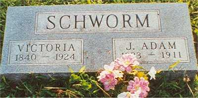 SCHWORM, JOHN  ADAM - Wapello County, Iowa | JOHN  ADAM SCHWORM