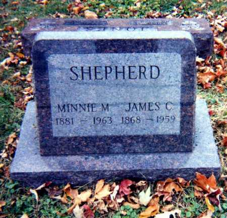 SHEPHERD, MINNIE L.  - Wapello County, Iowa | MINNIE L.  SHEPHERD