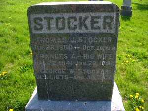 STOCKER, FRANCES ANN 1841-1890 - Wapello County, Iowa | FRANCES ANN 1841-1890 STOCKER