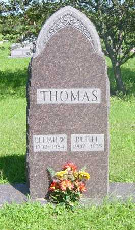 THOMAS, RUTH - Wapello County, Iowa | RUTH THOMAS