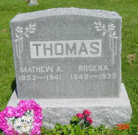 THOMAS, ROSENA - Wapello County, Iowa | ROSENA THOMAS